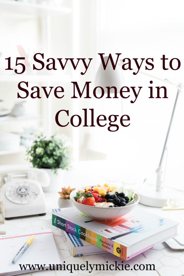 All of my Tips & Tricks to Save Money in College