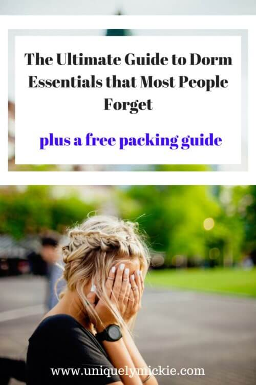 The Ultimate Guide to Dorm Essentials that Most People Forget