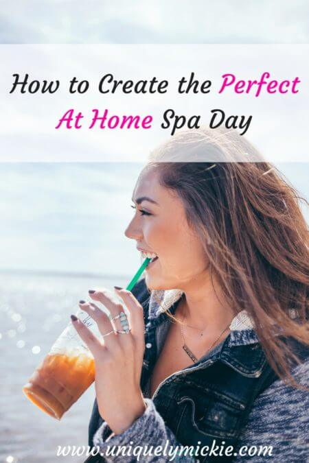 How to create the perfect at home spa day uniquely mickie for How to make a spa at home
