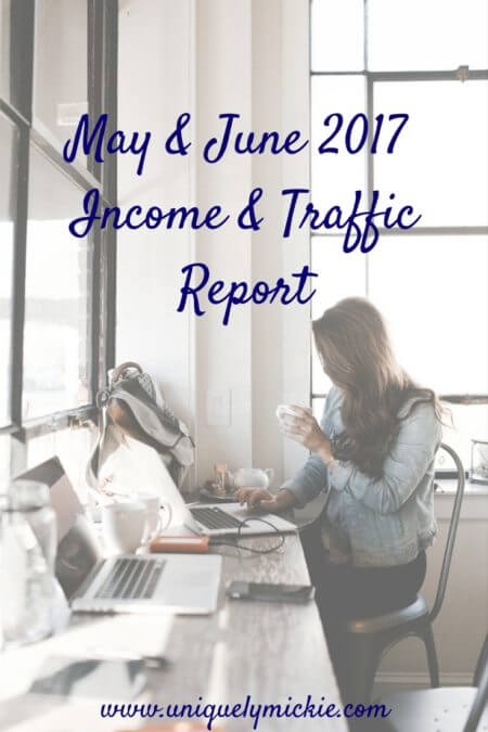 May & June Income & Traffic Report