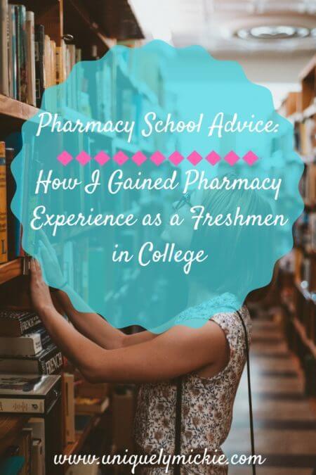Pharmacy School Advice: How to Gain Pharmacy Experience