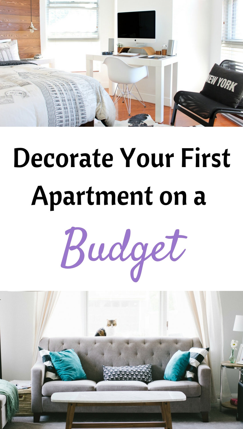 How to decorate your first apartment on a budget for Furnish an apartment on a budget