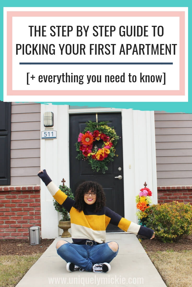 The Step By Step Guide To Picking Your First Apartment